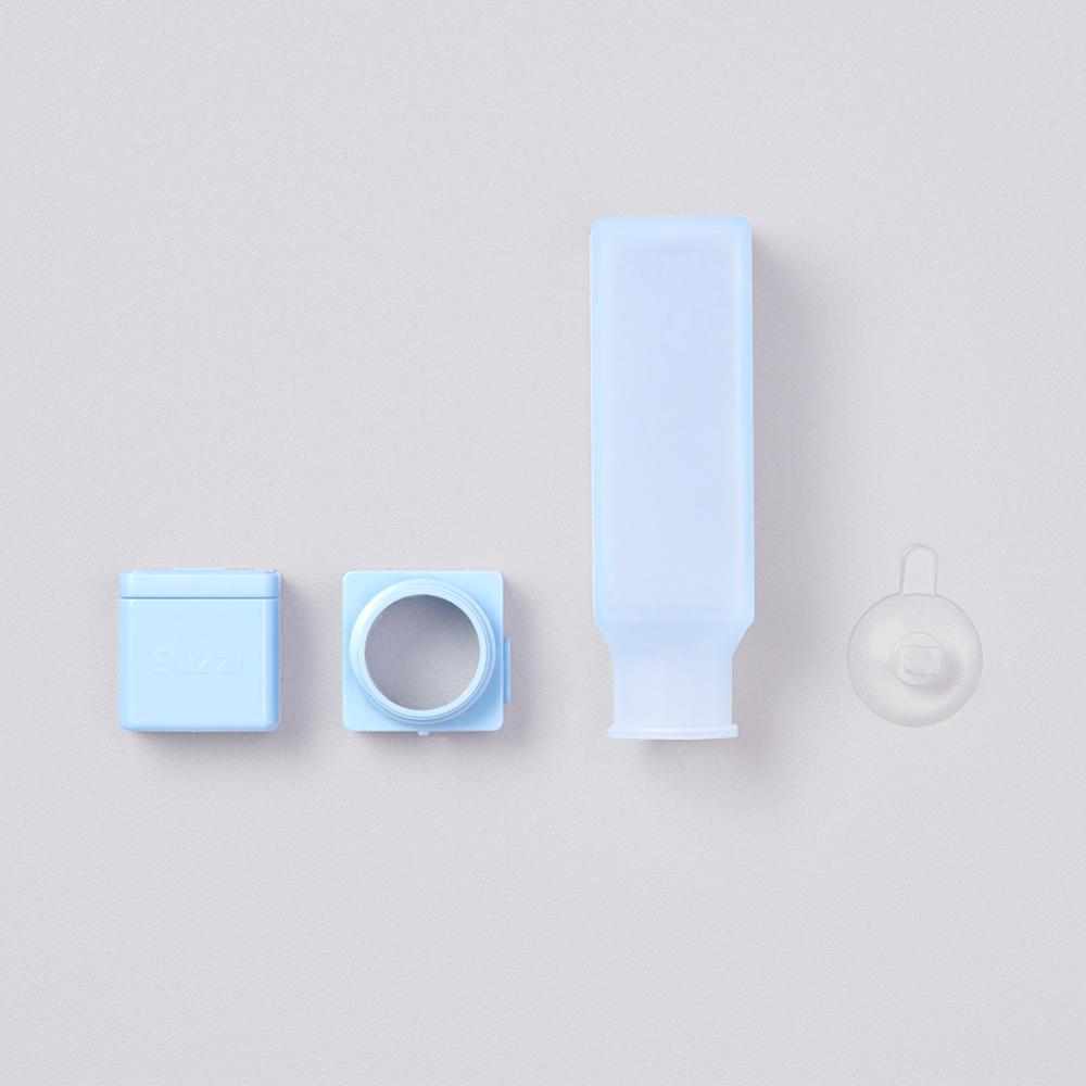 Suzzi|積木旅行分裝瓶 尼斯藍L 100ml - 三件旅行組