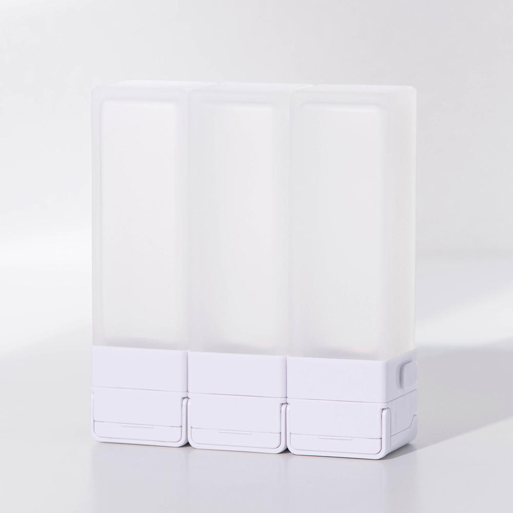 Suzzi|積木旅行分裝瓶 希臘白L 100ml - 三件旅行組