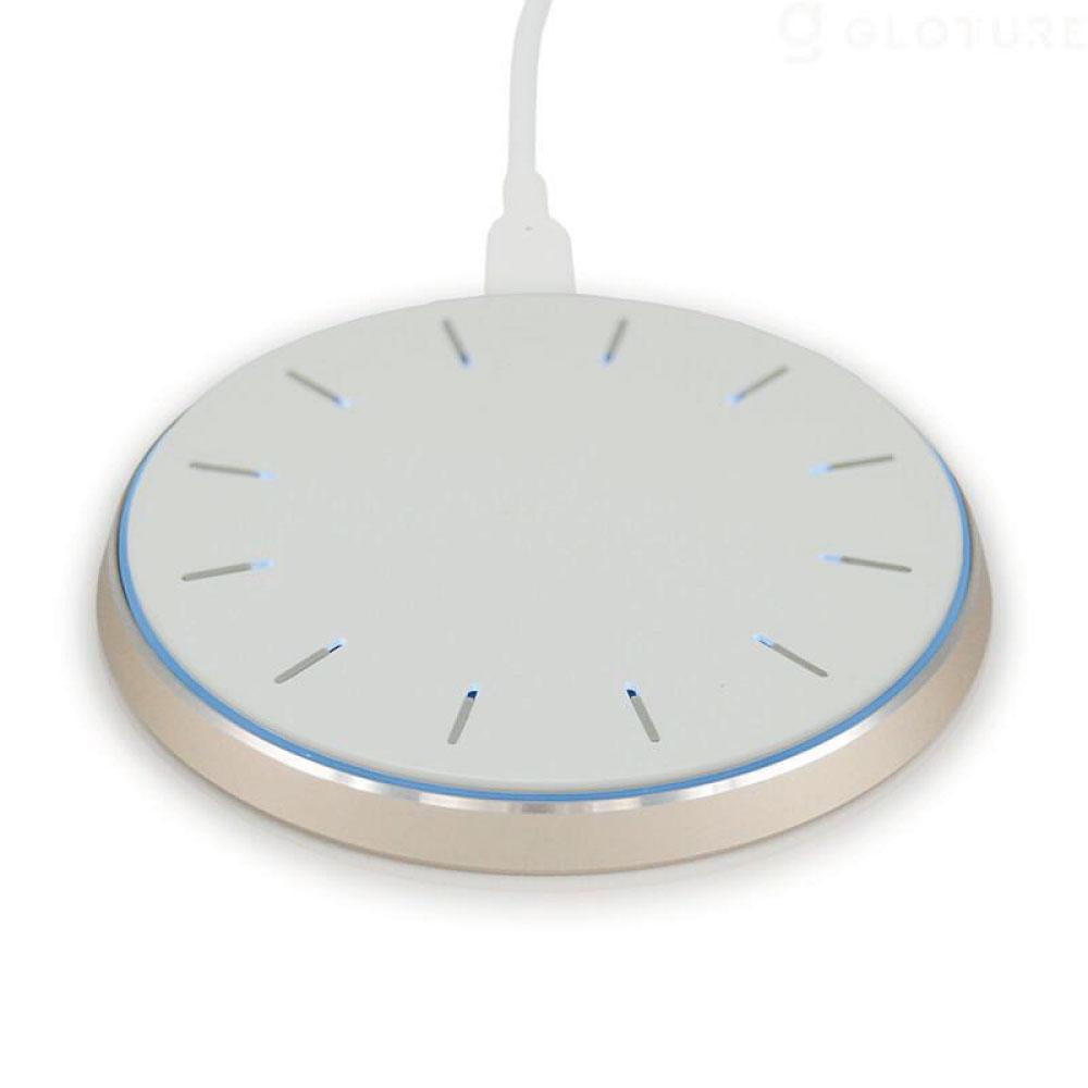 qico|無線配對傳檔備份充電盤(玫瑰金)