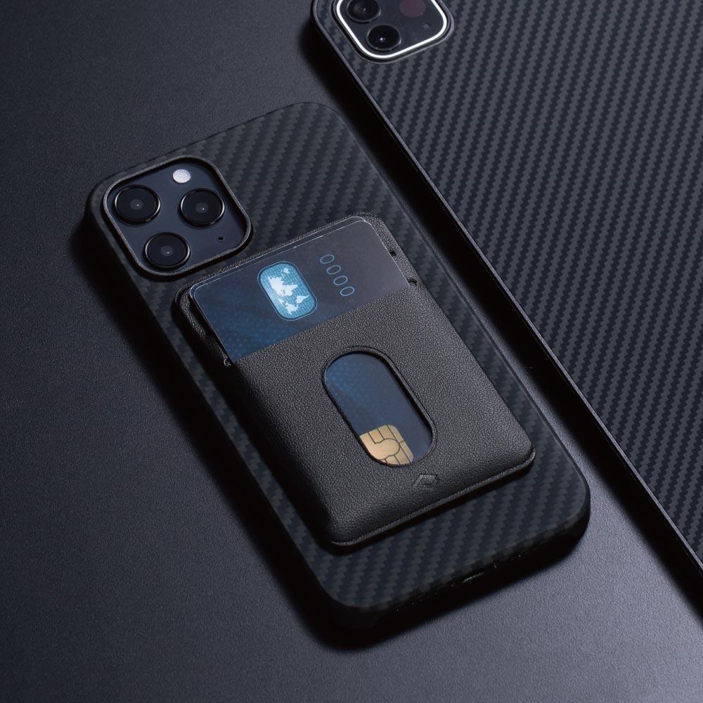 【集購】PITAKA|MagEZ Case iPhone 航太纖維磁吸手機殼名片夾組