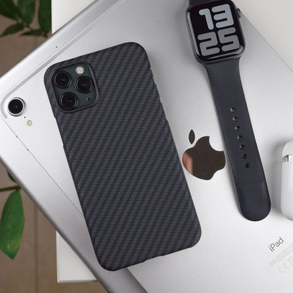 PITAKA|MagEZ Case iPhone11 航太纖維磁吸手機殼