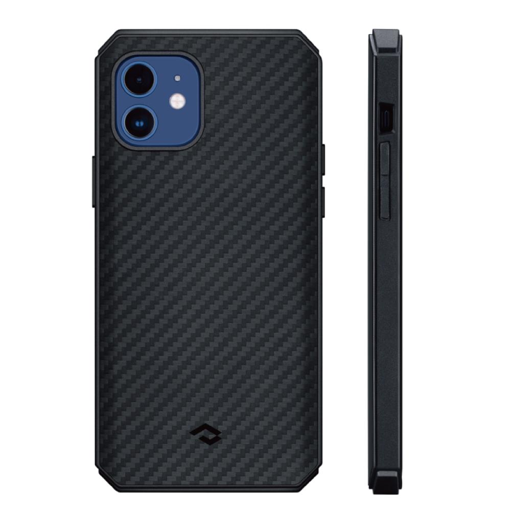 PITAKA|MagEZ CasePro2 航太纖維軍用磁吸手機殼( iPhone12系列)