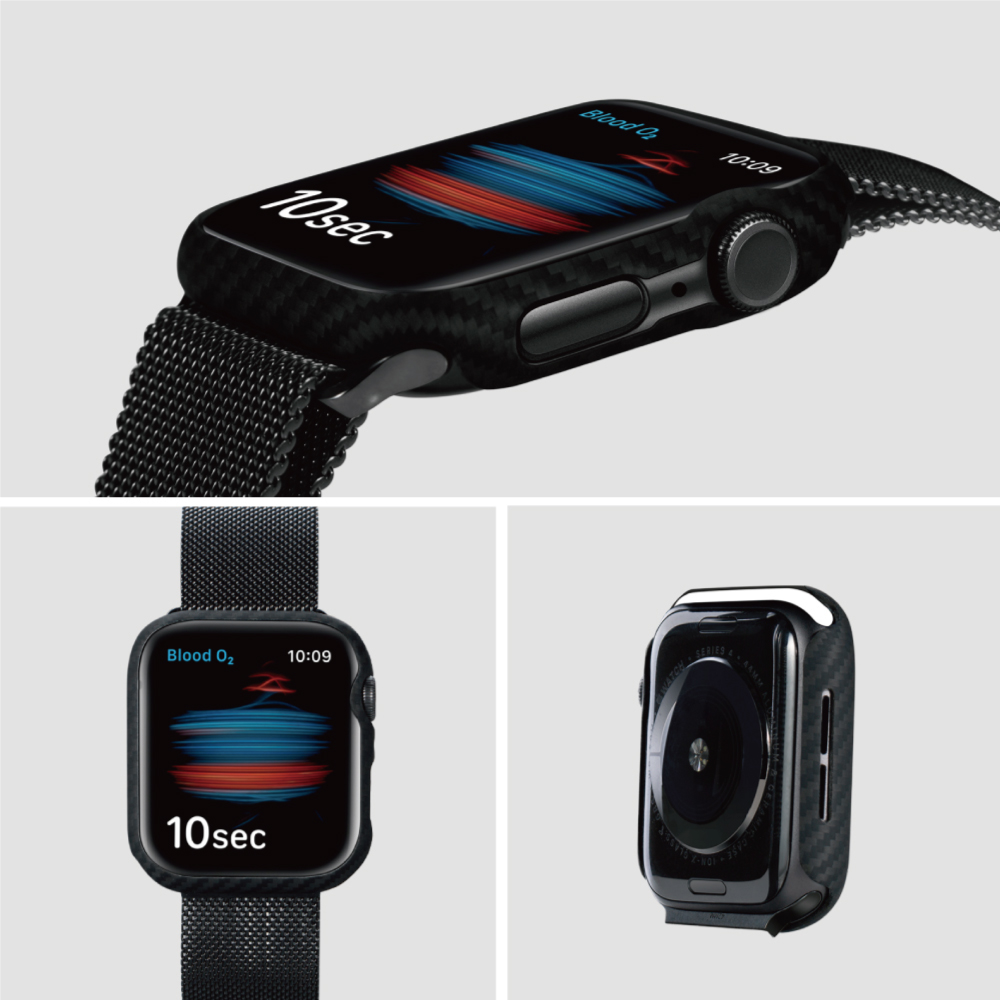 PITAKA|AirCase Apple Watch 600D航太纖維精工錶殼