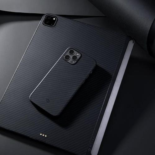PITAKA MagEZ Case2 iPad 2021 芳輪纖維磁吸平板殼