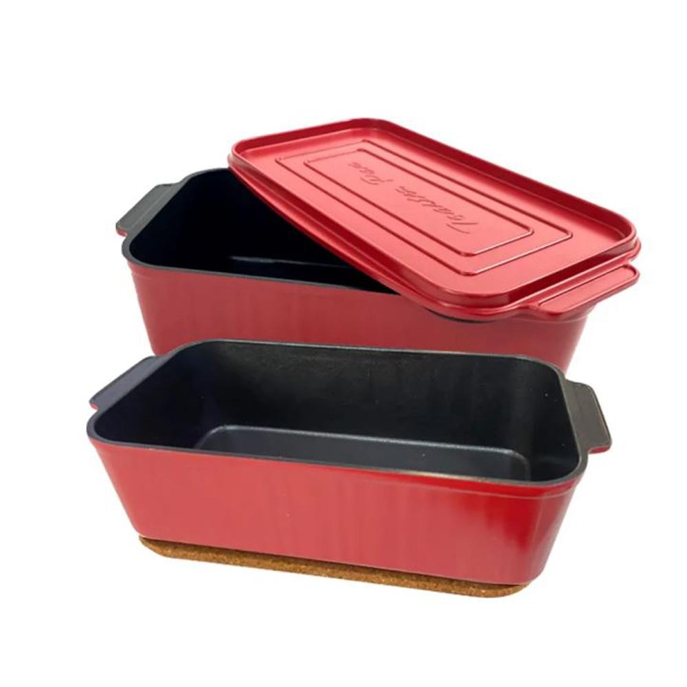 MASA Home 瑪莎家居|無水烹調料理盒 2盒+1蓋超值組合