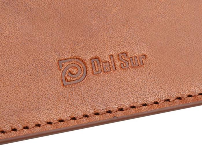 Del Sur|DS 阿根廷頭層牛皮純手工植鞣天然皮革-Huapi小斜肩包-焦糖棕