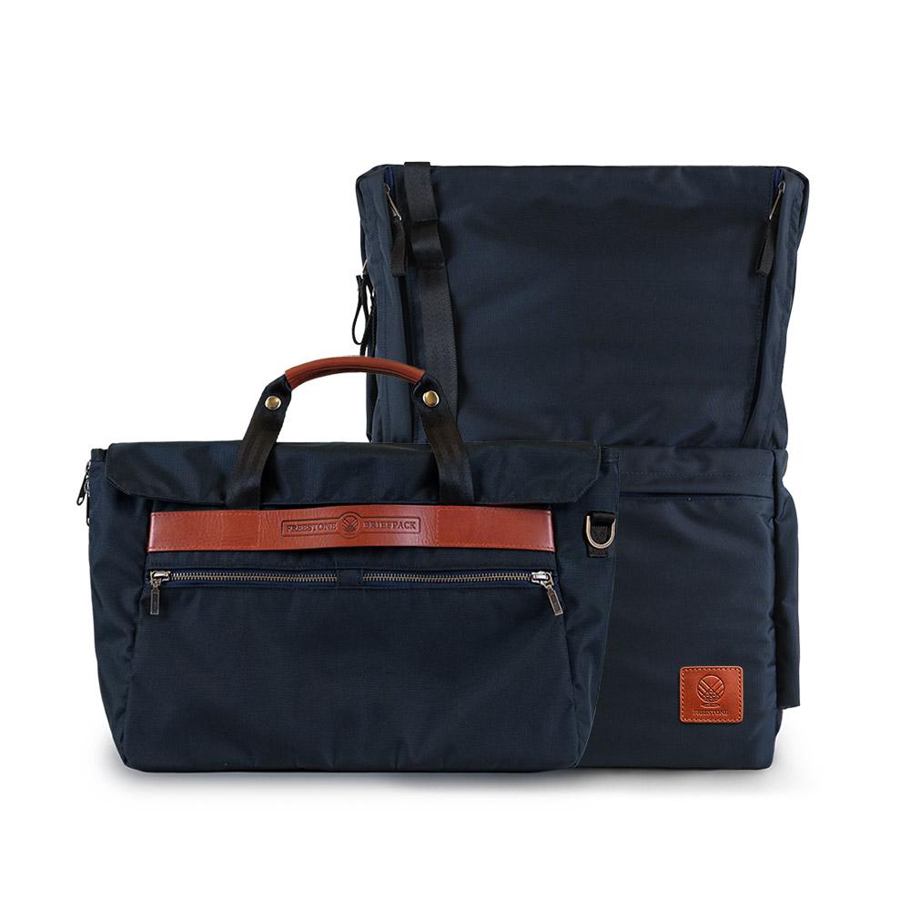 FREESTONE|Briefpack 雙面變形包-深海藍