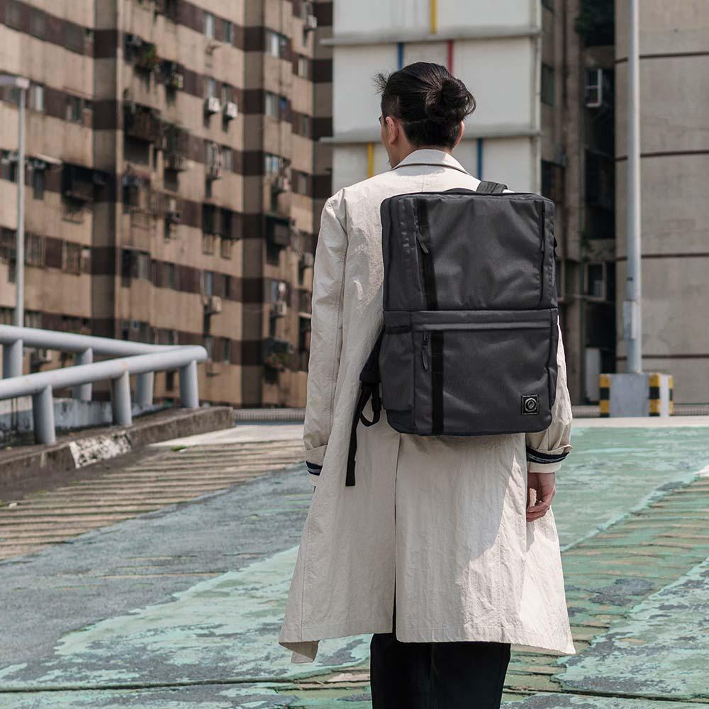 FREESTONE|Briefpack 雙面變形包-月石灰