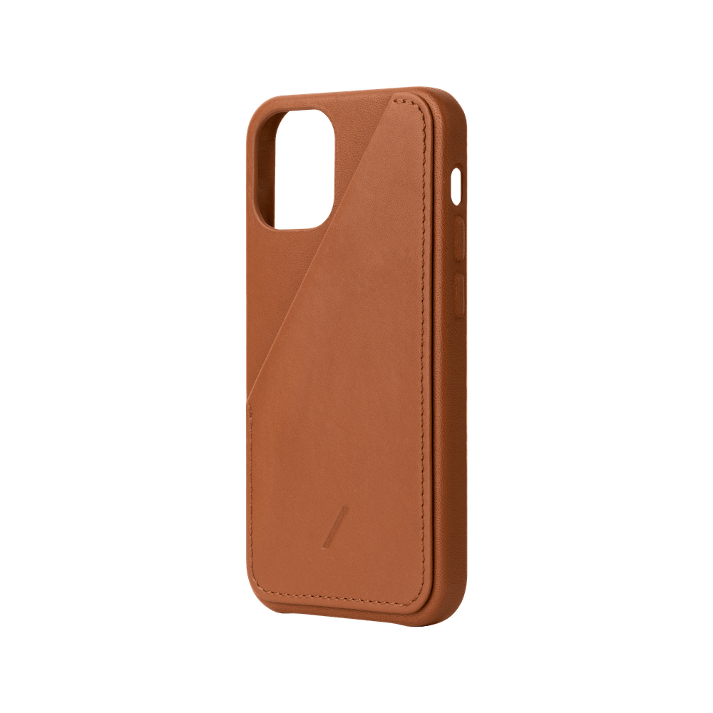 NATIVE UNION|iPhone 12 CLIC CARD 插卡式皮革手機殼-棕色