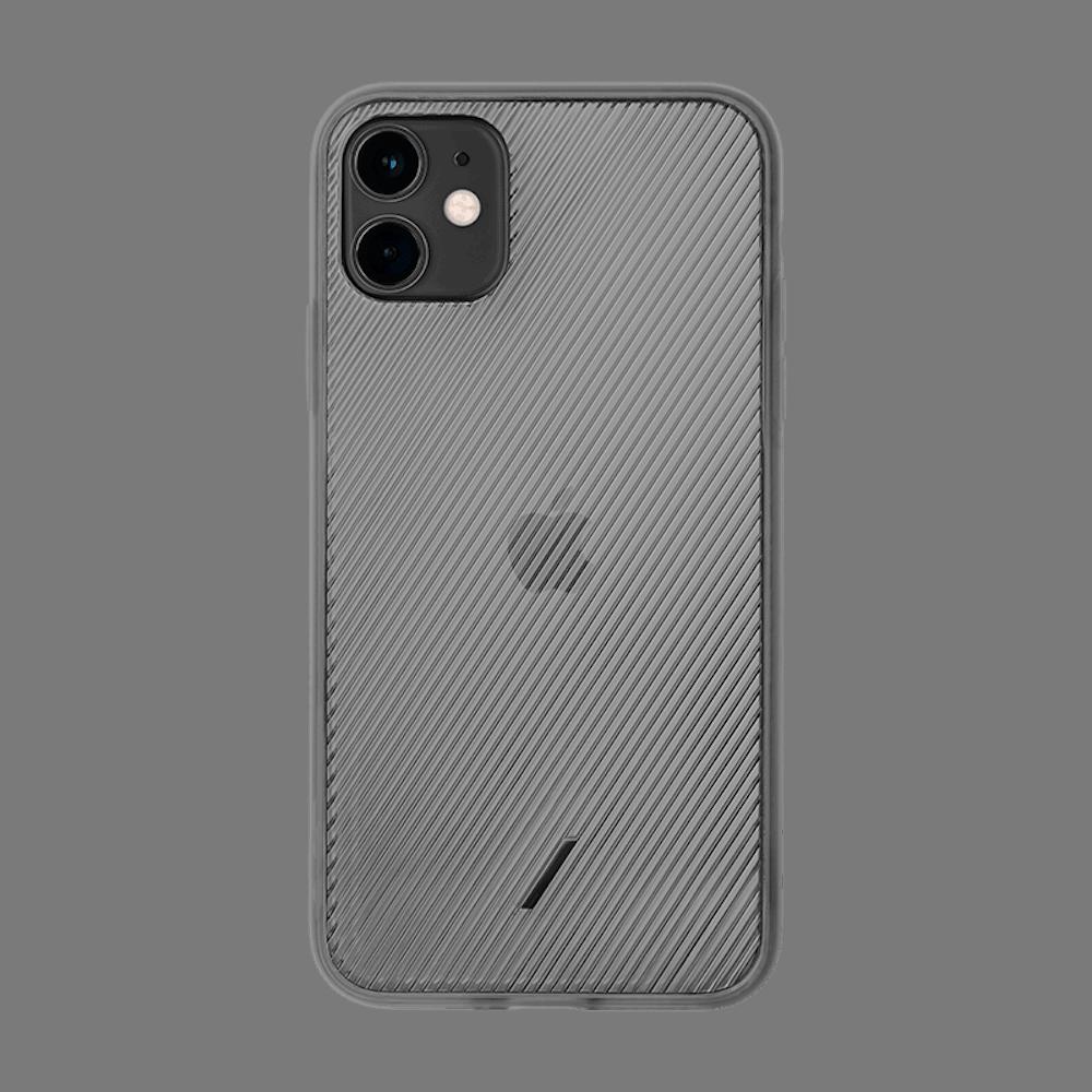 NATIVE UNION iPhone 11 CLIC VIEW透明手機殼-霧黑