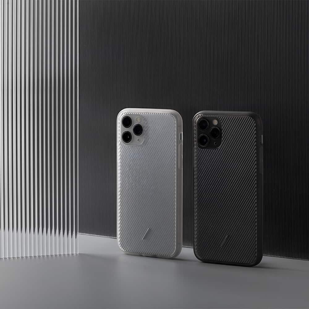NATIVE UNION|iPhone 11 CLIC VIEW透明手機殼-雪白