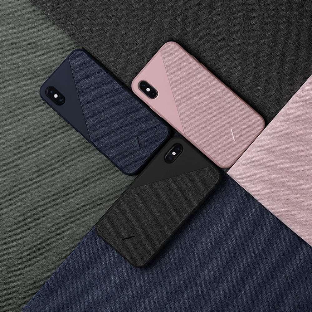 NATIVE UNION iPhone 11 CLIC 織布手機殼 正黑