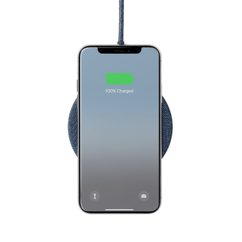 NATIVE UNION|Drop無線充電盤 - 靛藍