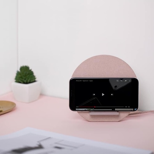 NATIVE UNION Dock無線充電座 - 柔霧粉