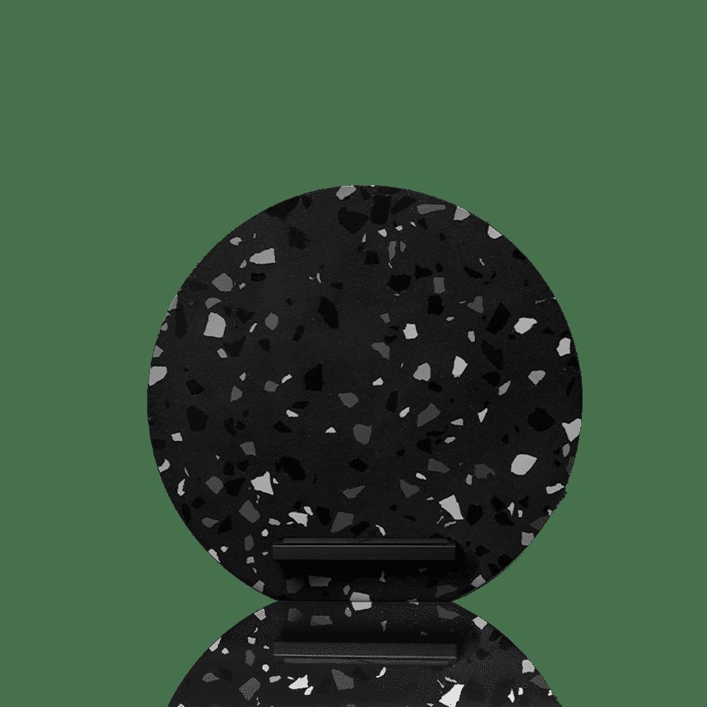 NATIVE UNION|Dock 水磨石無線充電座 - 暗岩灰