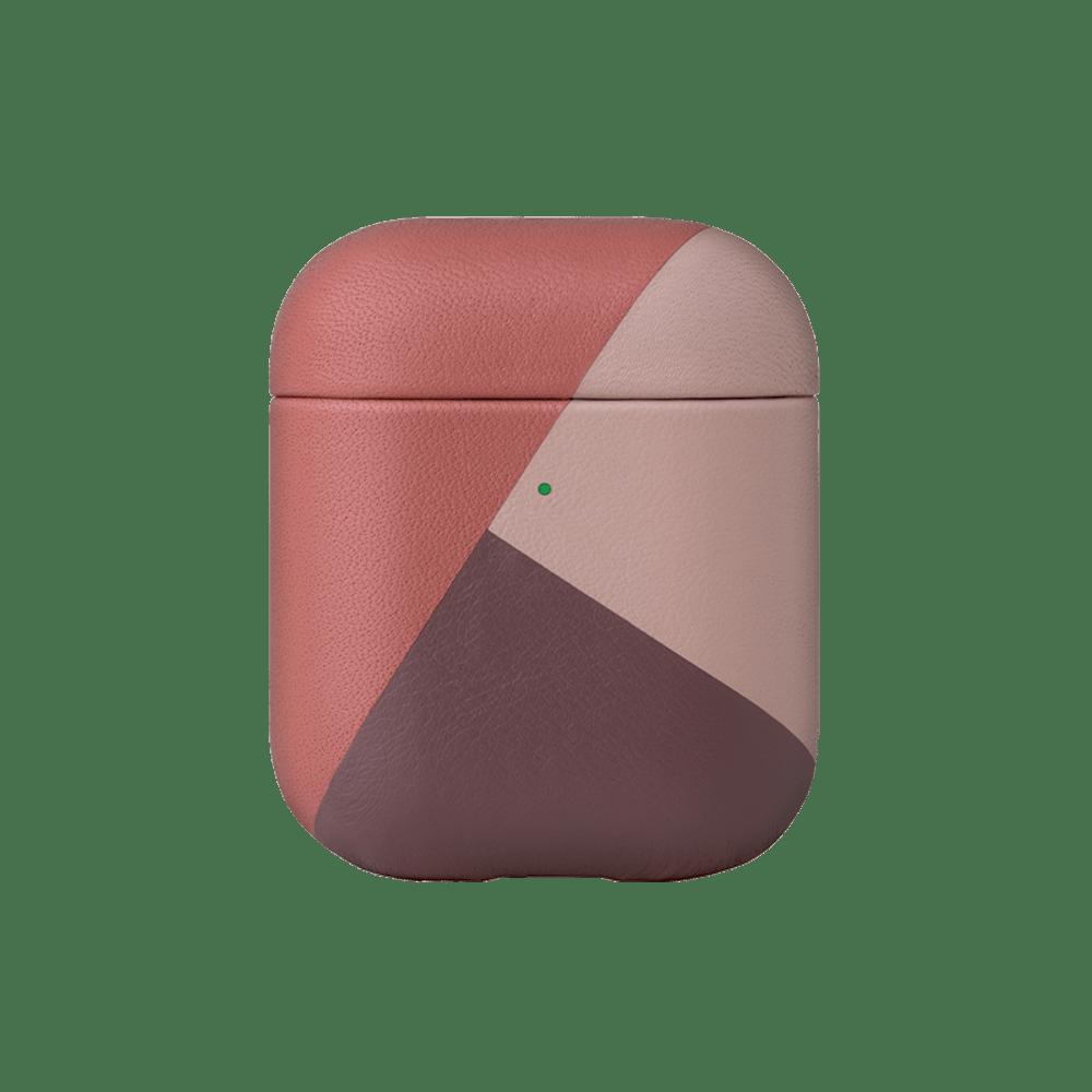 NATIVE UNION|AirPods 義大利拼接皮套 柔霧粉
