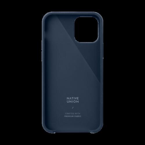 NATIVE UNION|iPhone 12 CLIC CANVAS 織布手機殼-靛藍