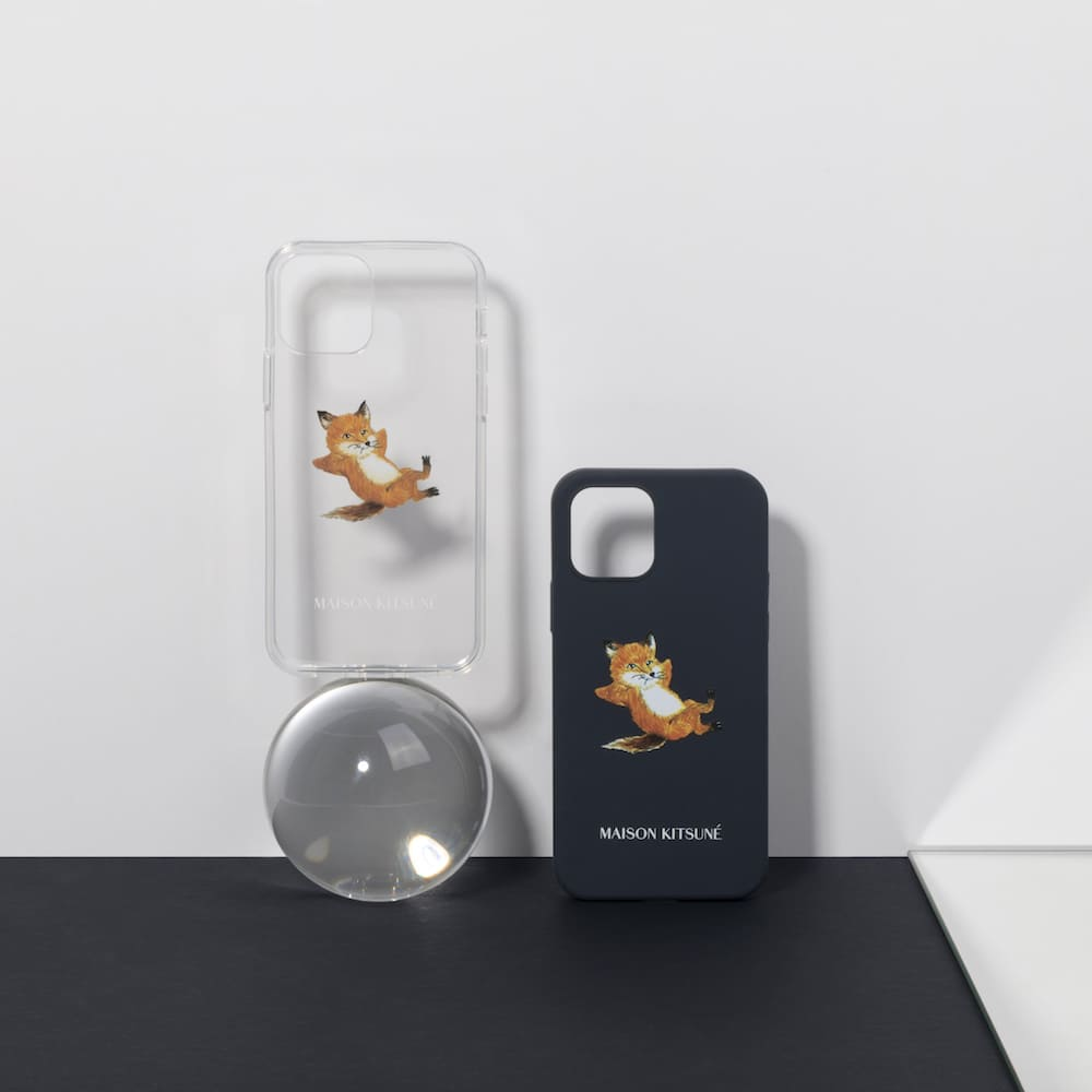 NATIVE UNION|Maison Kitsuné 聯名Chillax系列 iPhone 12 手機殼 - 夜黑