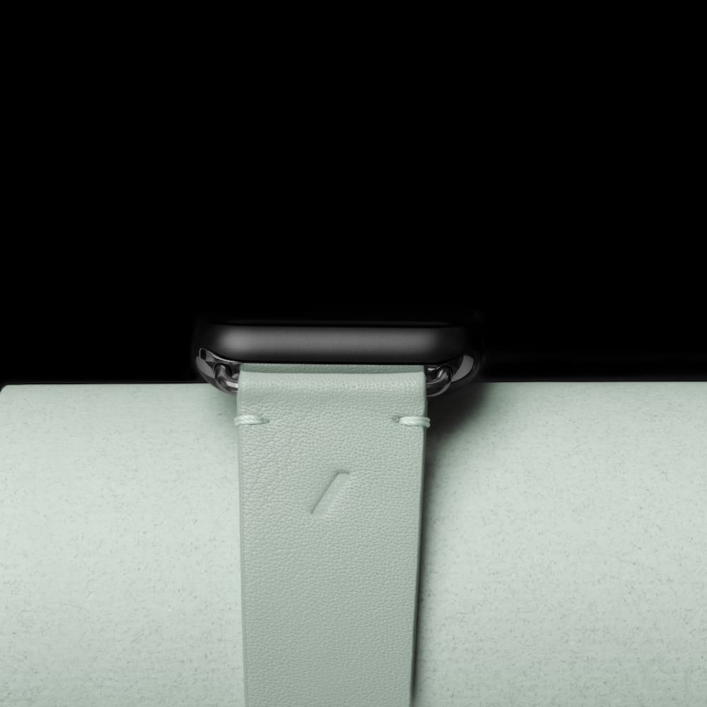 NATIVE UNION|Apple Watch Strap 經典皮革錶帶 - 薄荷綠