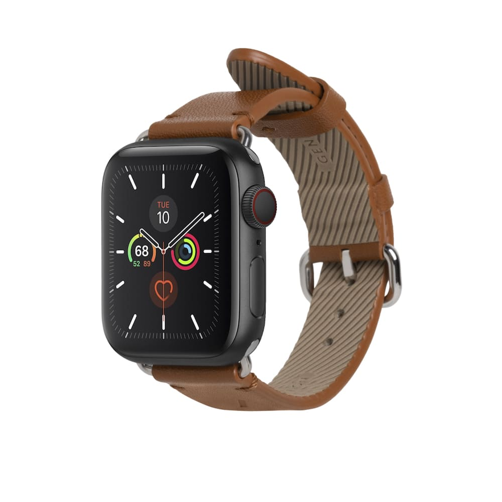 NATIVE UNION|Apple Watch Strap 經典皮革錶帶 - 經典棕