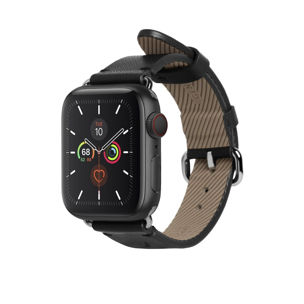 NATIVE UNION|Apple Watch Strap 經典皮革錶帶 - 經典黑