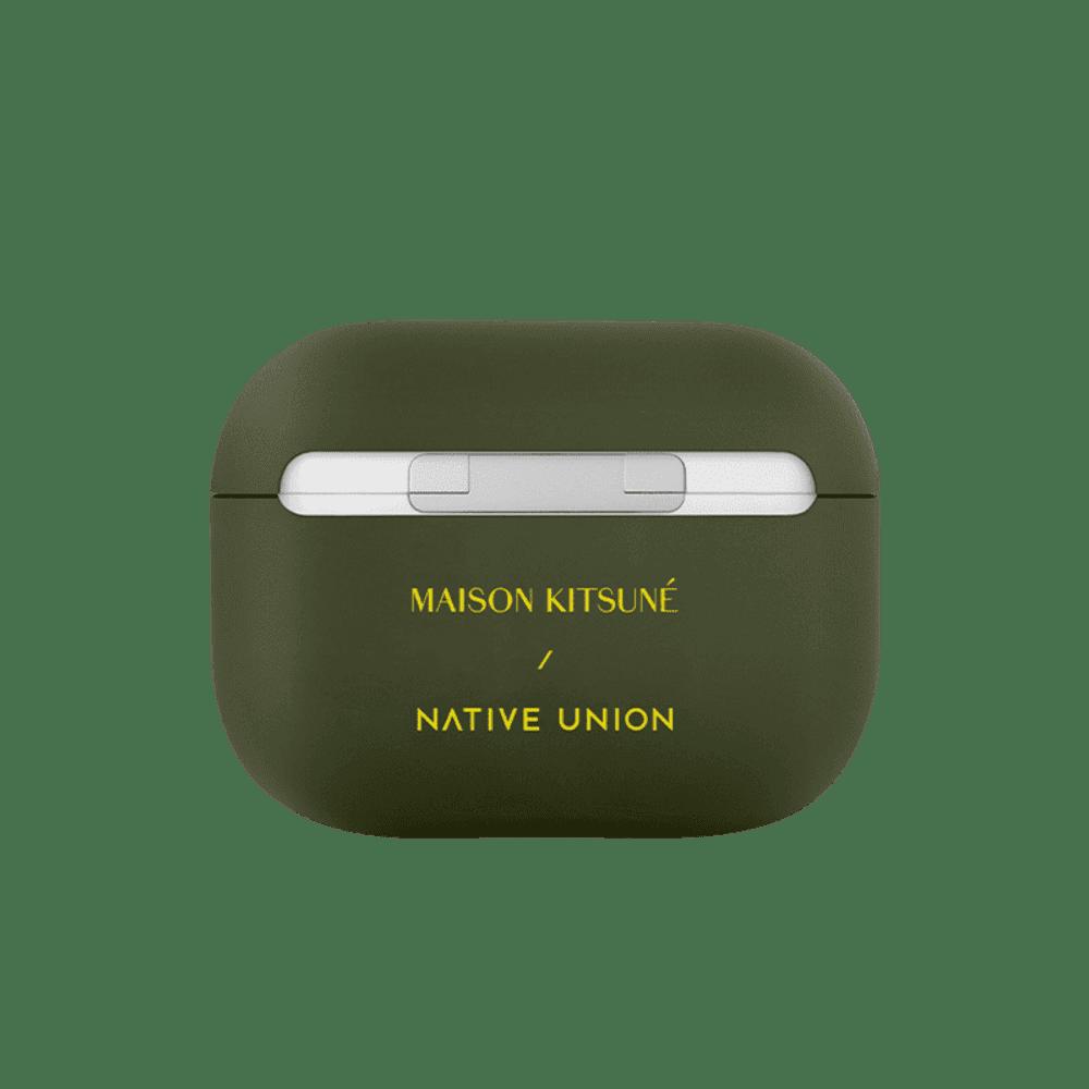 NATIVE UNION|Maison Kitsuné X Native Union聯名AirPods Pro保護套-墨綠