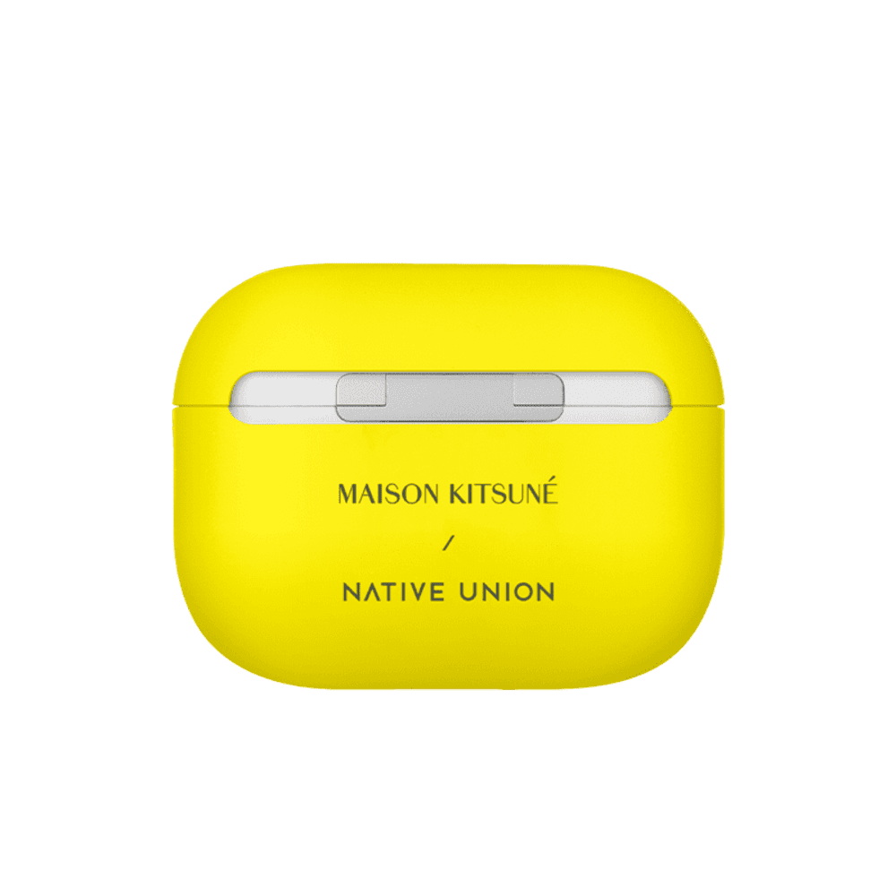 NATIVE UNION|Maison Kitsuné X Native Union聯名AirPods Pro保護套-螢光黃