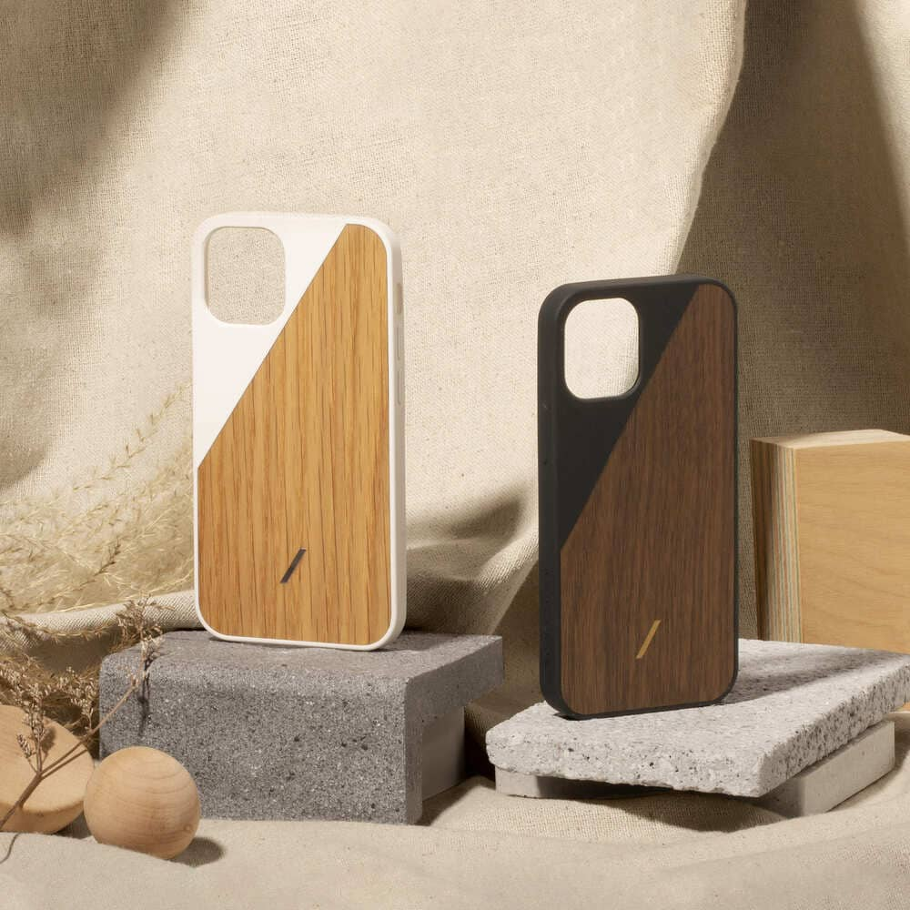 NATIVE UNION|iPhone 12 CLIC WOODEN 原木手機殼 - 白橡木