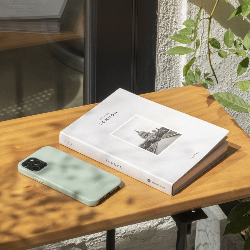 NATIVE UNION iPhone 12 CLIC CLASSIC 經典皮革手機殼-薄荷綠