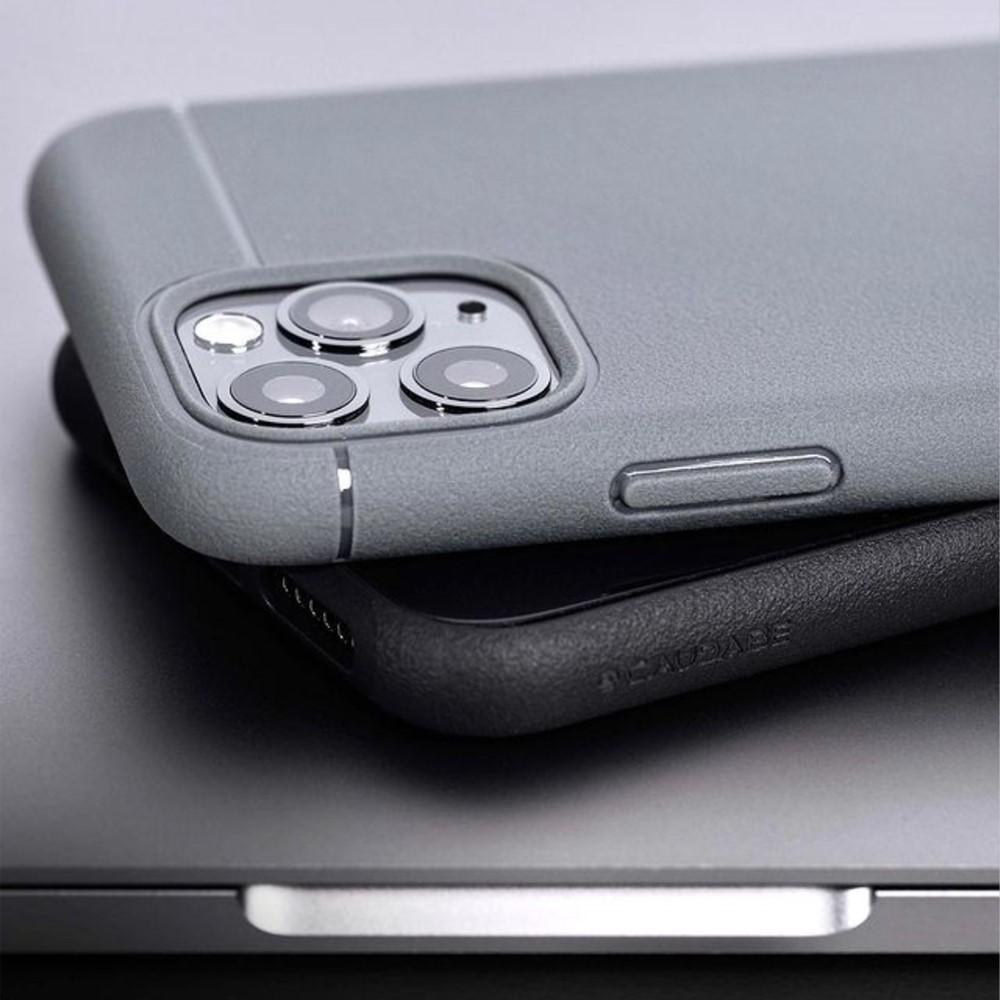 CAUDABE|iPhone 12 Sheath 極簡減震手機殼 - 暗岩灰