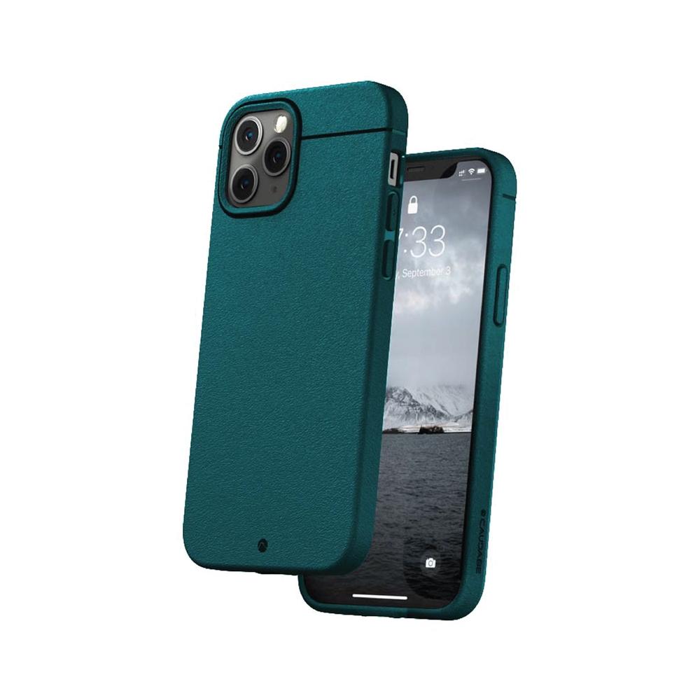 CAUDABE|iPhone 12 Sheath 極簡減震手機殼 - 湖水綠