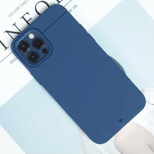 CAUDABE iPhone 12 Sheath 極簡減震手機殼 - 深海藍