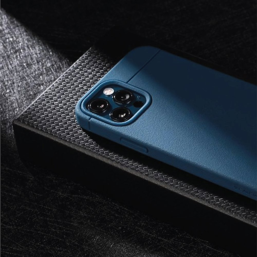 CAUDABE iPhone 12 MagSafe Sheath 極簡磁吸手機殼 - 深海藍