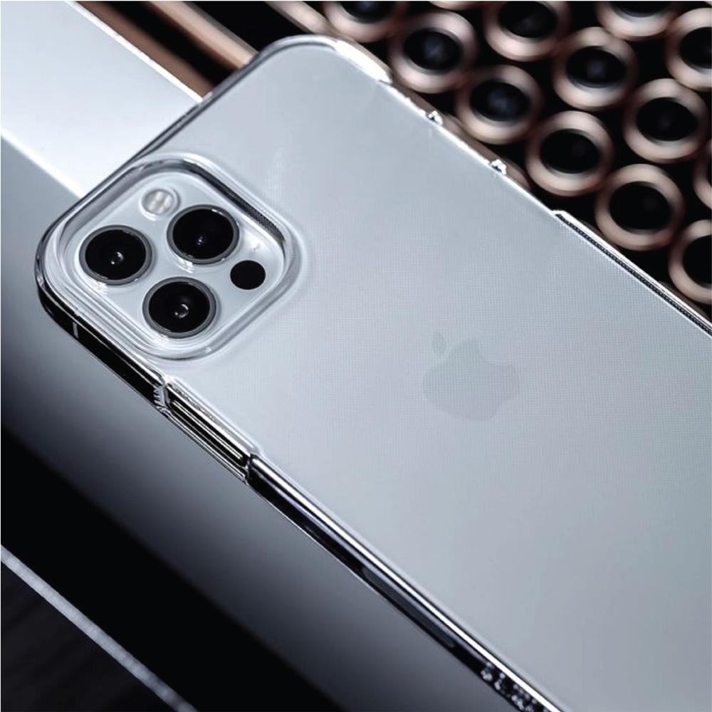CAUDABE|iPhone 12 Lucid Clear 極透防摔手機殼 - 極透白