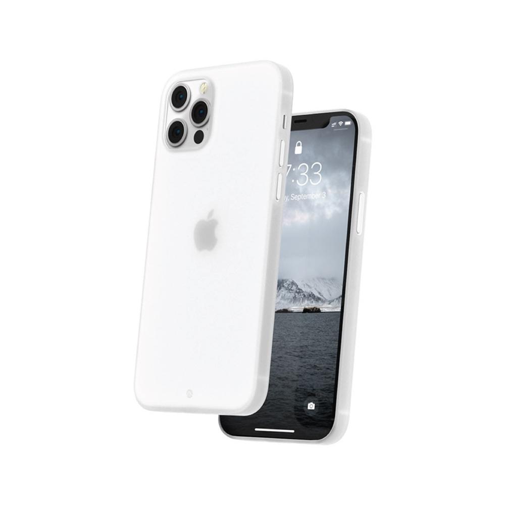 CAUDABE iPhone 12 The Veil 極簡輕盈手機殼 - 迷霧白