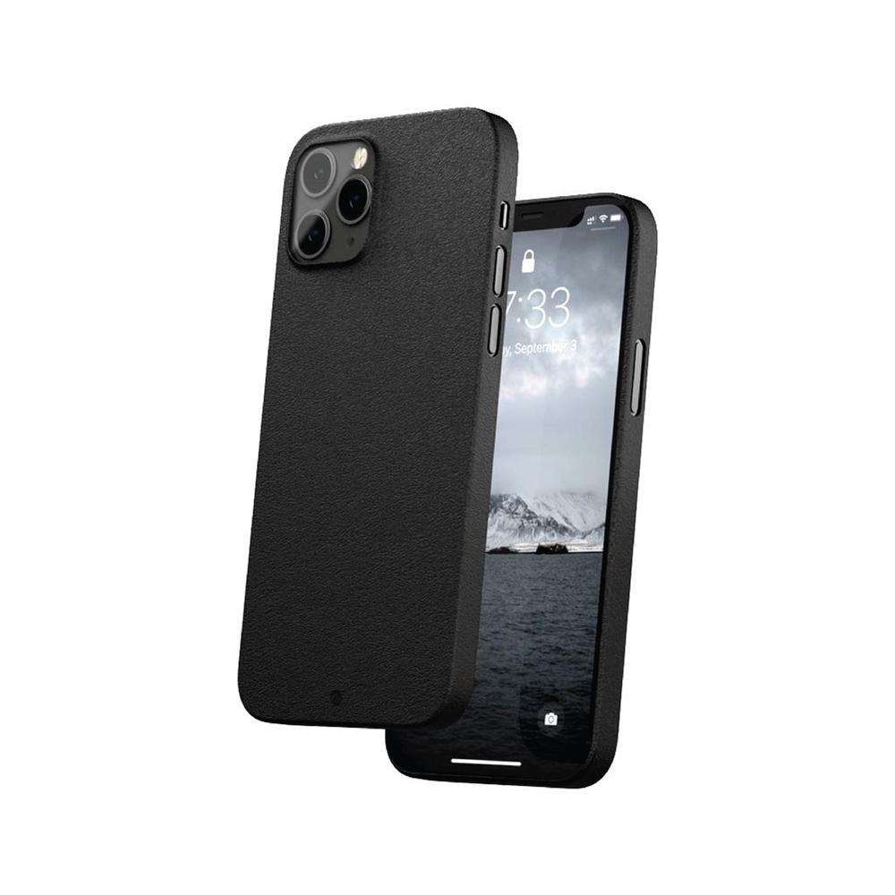 CAUDABE iPhone 12 The Veil 極簡輕盈手機殼 - 磨砂黑