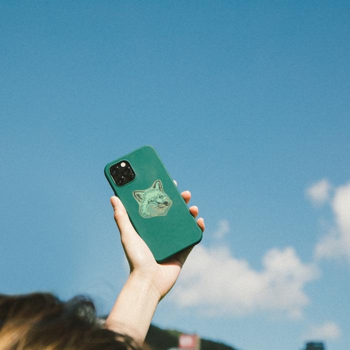 NATIVE UNION|Maison Kitsuné 聯名iPhone 12 / 12 Pro 手機殼 - 仲夏綠