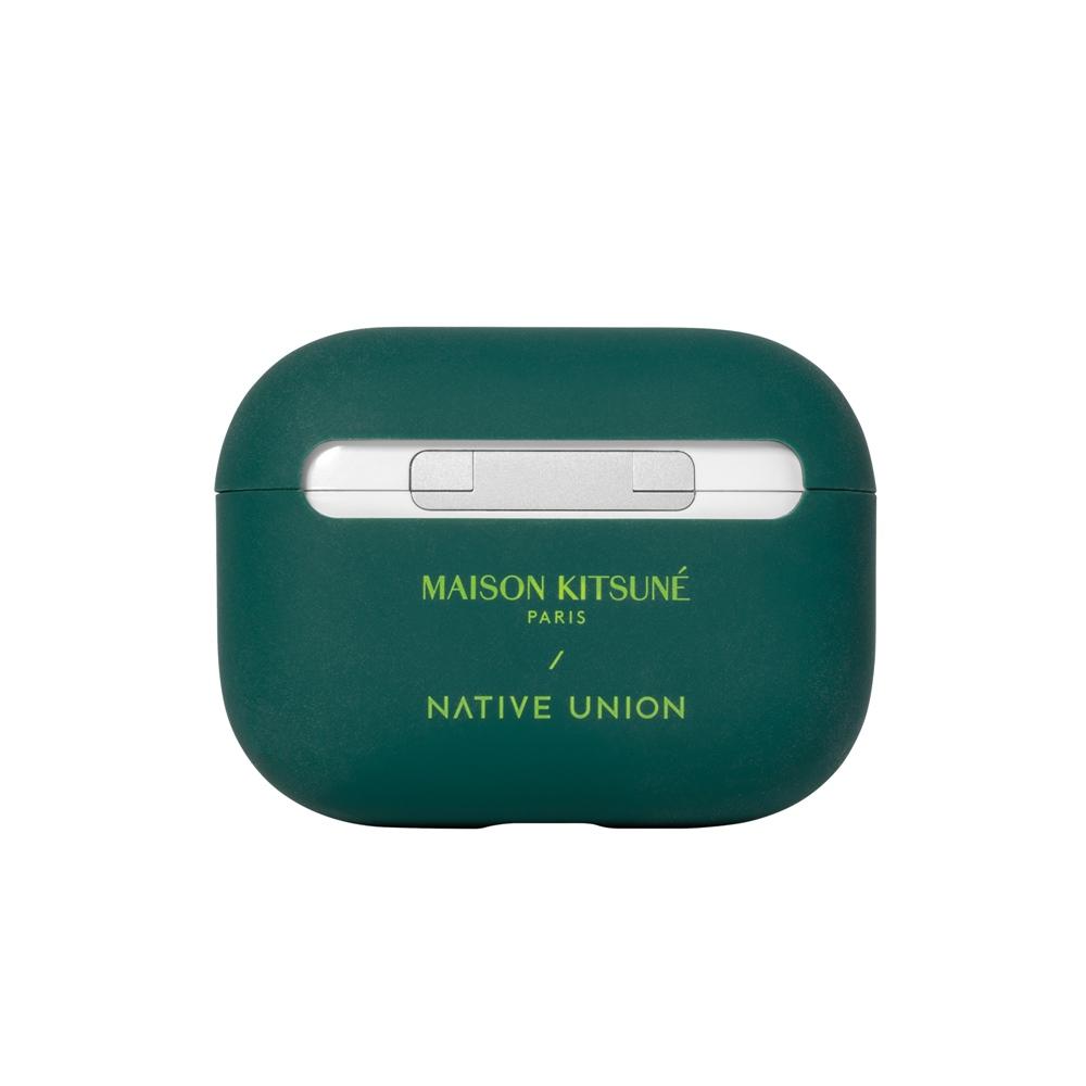 NATIVE UNION|Maison Kitsuné 聯名AirPods Pro 保護套 - 仲夏綠