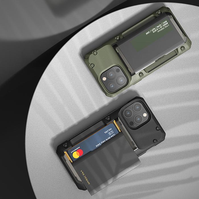 VRS Design Damda G-Pro - iPhone 13 手機殼 - NASA 聯名黑