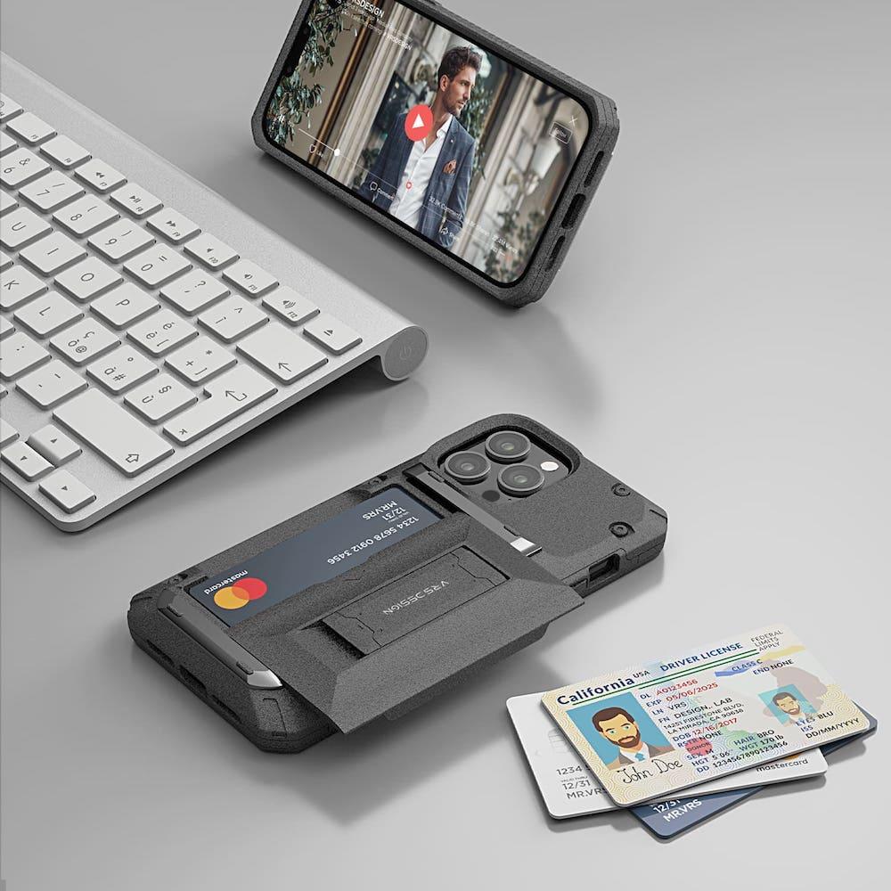 VRS Design|Damda G-Pro - iPhone 13 手機殼 - 礫石