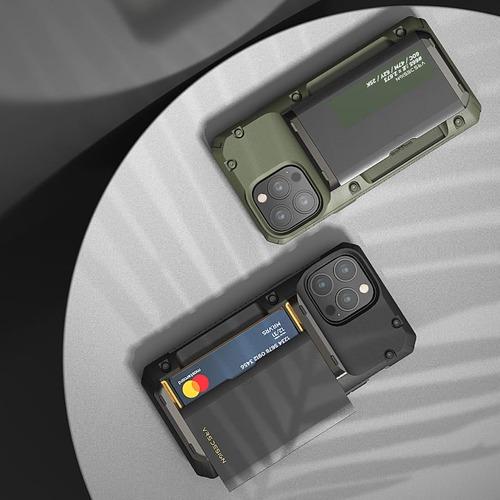 VRS Design Damda G-Pro - iPhone 13 手機殼 - 正黑