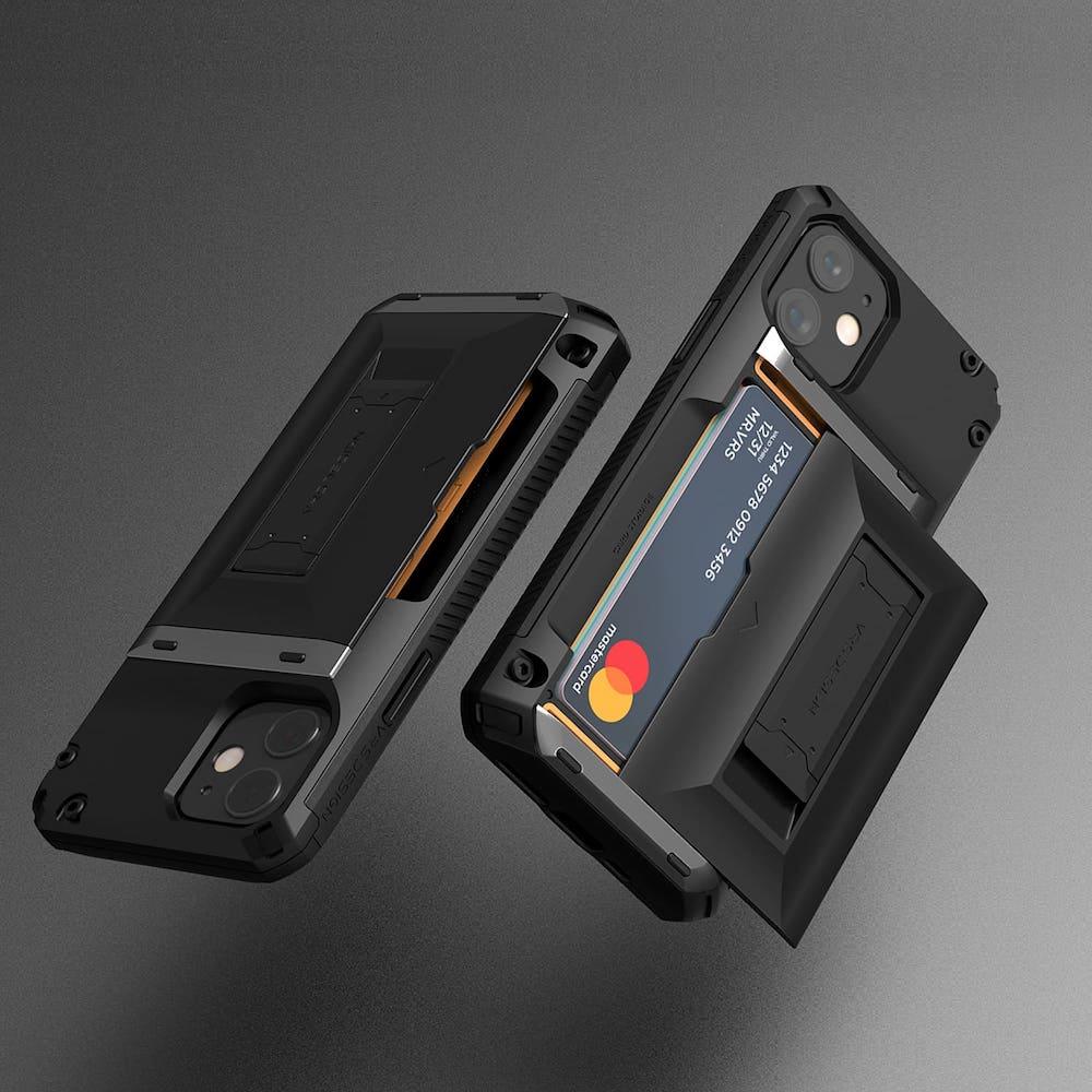 VRS Design Damda G-Hybrid - iPhone 12 手機殼 -  正黑