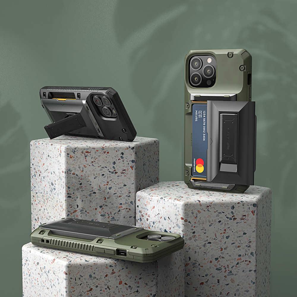 VRS Design|Damda G-Hybrid - iPhone 13 手機殼 - 正黑