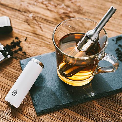 初芳宇|磁吸沏茶筆(月牙白)