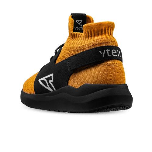 V-TEX 地表最強耐水鞋 - HELLO輕量版 - 薑黃/黑底