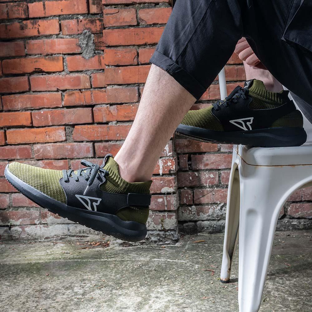V-TEX 地表最強耐水鞋 - HELLO輕量版 - 墨綠/黑底