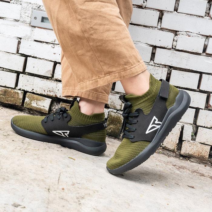 V-TEX 地表最強耐水鞋 -新款上市 限時優惠價- HELLO輕量版 - 墨綠/黑底