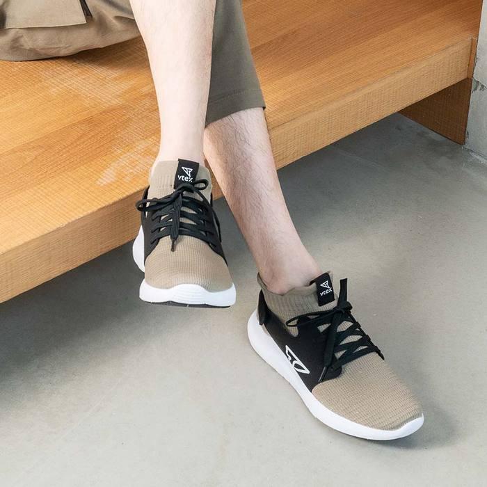 V-TEX 地表最強耐水鞋 -新款上市 限時優惠價- HELLO輕量版 - 亞麻/白底