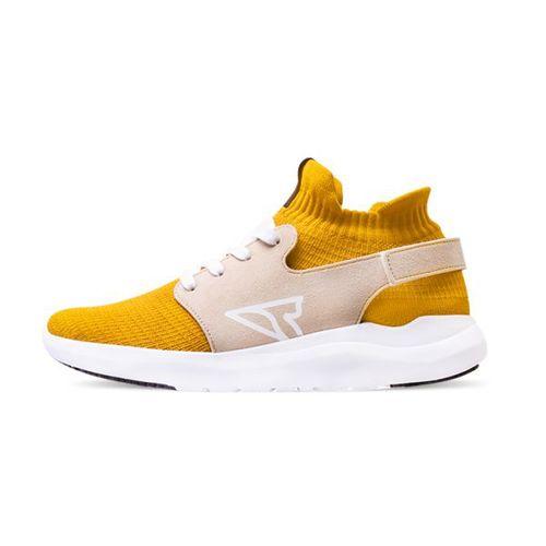V-TEX|地表最強耐水鞋 - HELLO輕量版 - 薑黃/白底