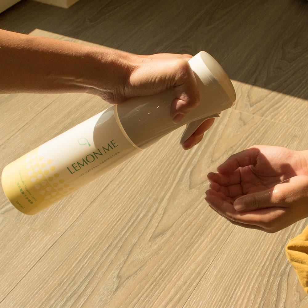 LEMON ME 抗菌防護奈米電離子水噴劑(300ml)